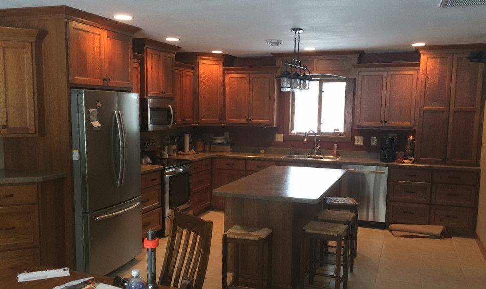 Custom Quarter Sawn White Oak Kitchen Cabinets | finewood Structures